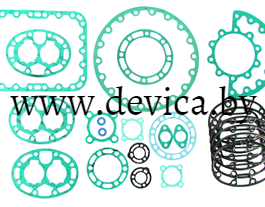 Комплект прокладок компрессора 05G (картон) 17-55020-20